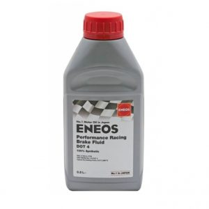 Brzdová kapalina ENEOS Performance Racing Brake Fluid DOT 4, 500ml